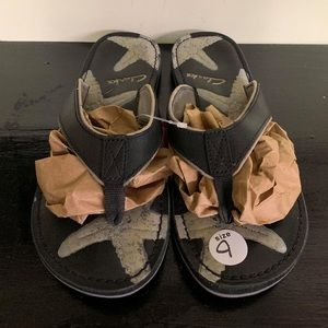 Clarks Leather Starfish Sandals
